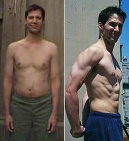 Beverly Hills personal training client before and after