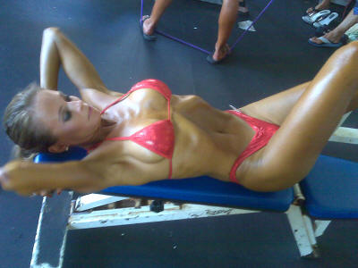great abs for bikini competition