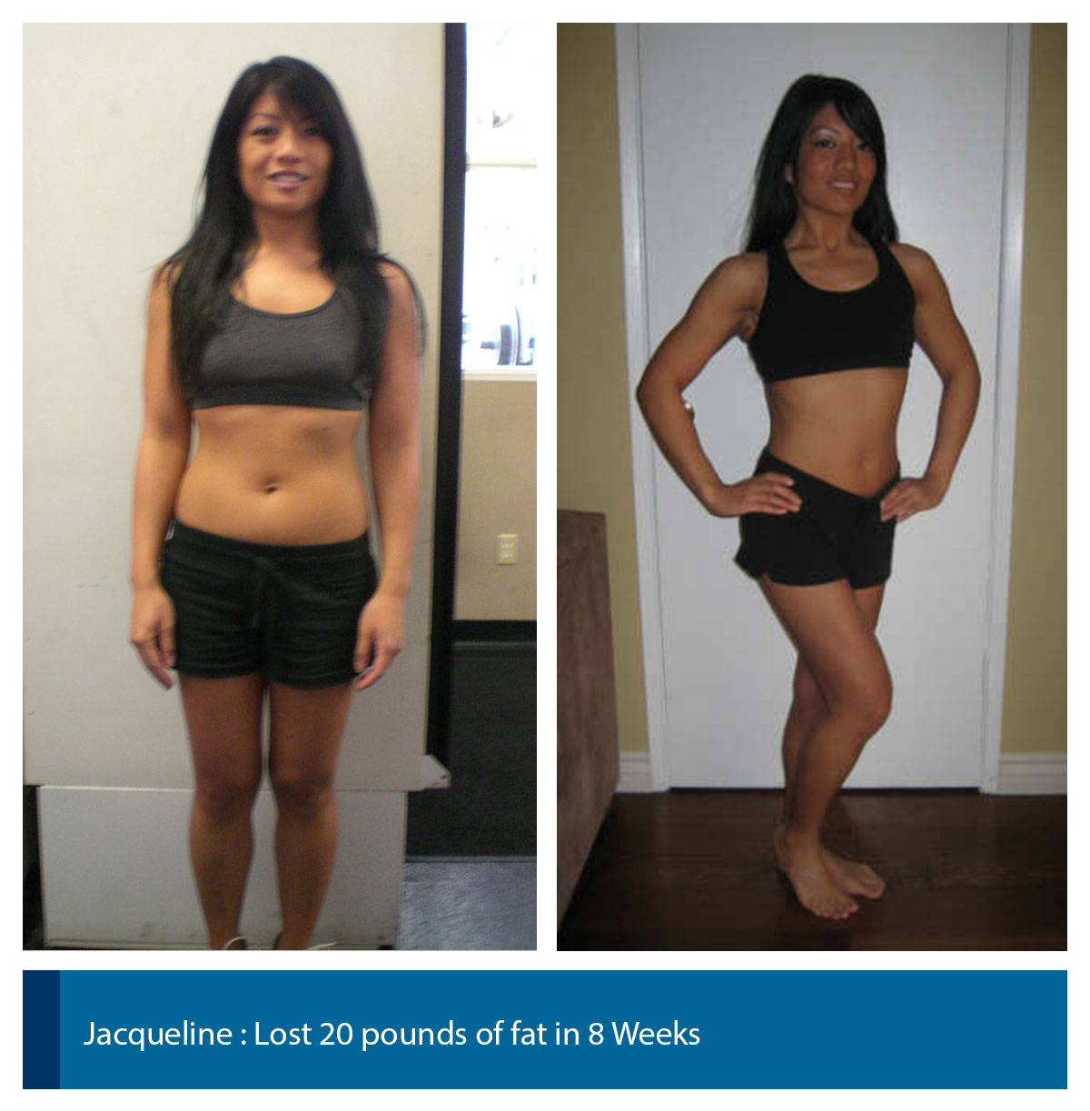8 weeks body transformation female