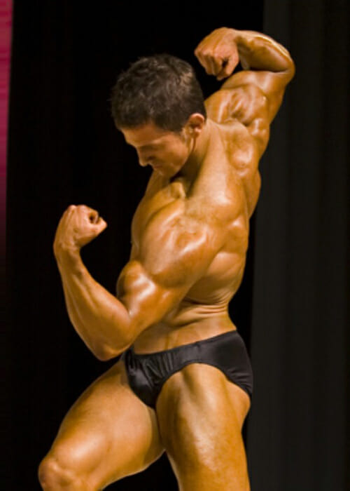 natural bodybuilder Larry