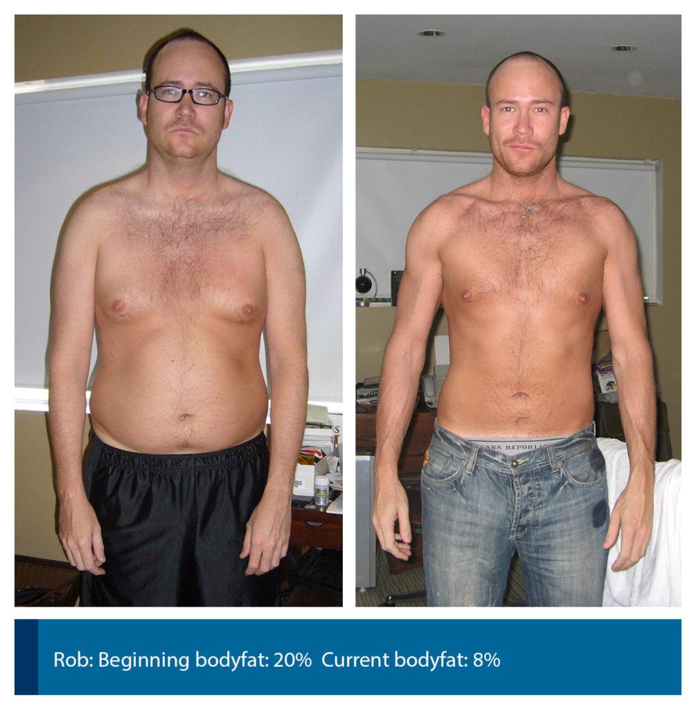 8 body fat male