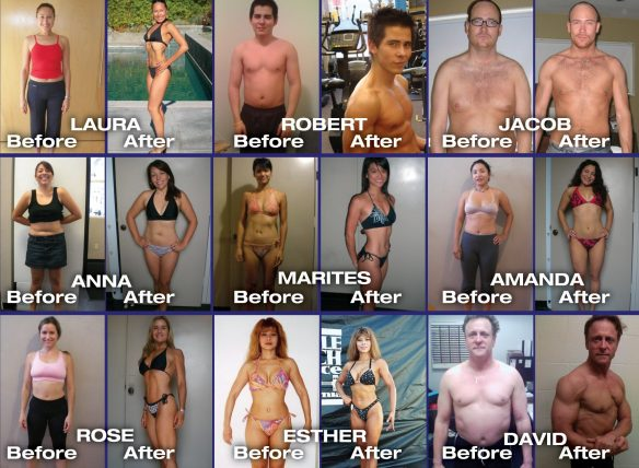 personal trainer before and after