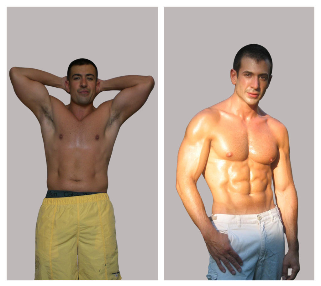 personal trainer in Hollywood client before and after